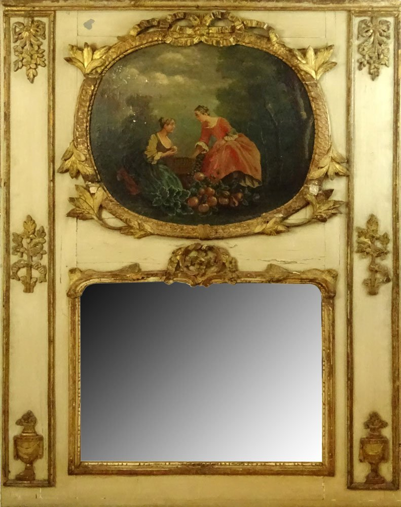 18/19th Century French Louis XVl style Painted and