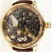 Men's Ulysse Nardin 18 Karat Rose Gold Limited Edition