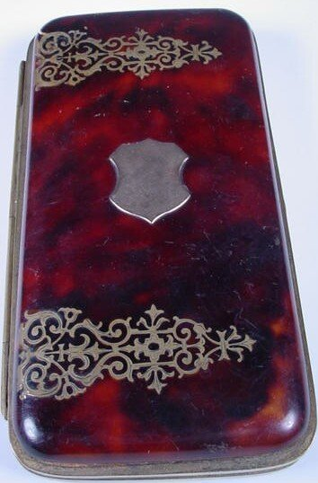 4A: Victorian Optical Glass Case w/ Bronze Mounts