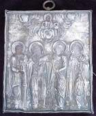 92: Mid-19th C Russian Icon Western Russia Depicting th