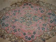 355 Palace Size Cream Ground Persian Kerman Oriental R