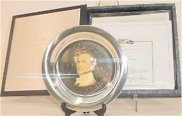 691: The Franklin Pierce Plate Issued by the White Hous