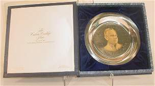 748: The Calvin Coolidge Plate Issued by the White Hous