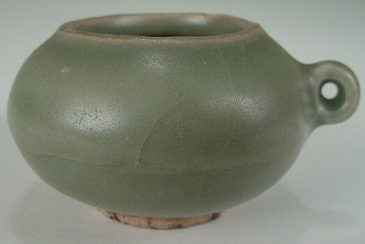 11: Longquan Celadon Bird Feeder Southern Song Dynasty.