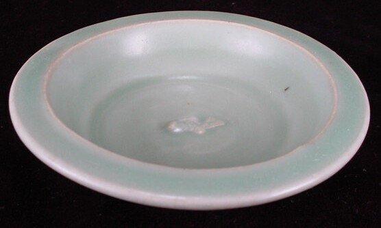12: Unusual Longquan Celadon Single Fish Dish Southern