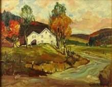Emile Albert Gruppe, American (1896-1978) Oil on