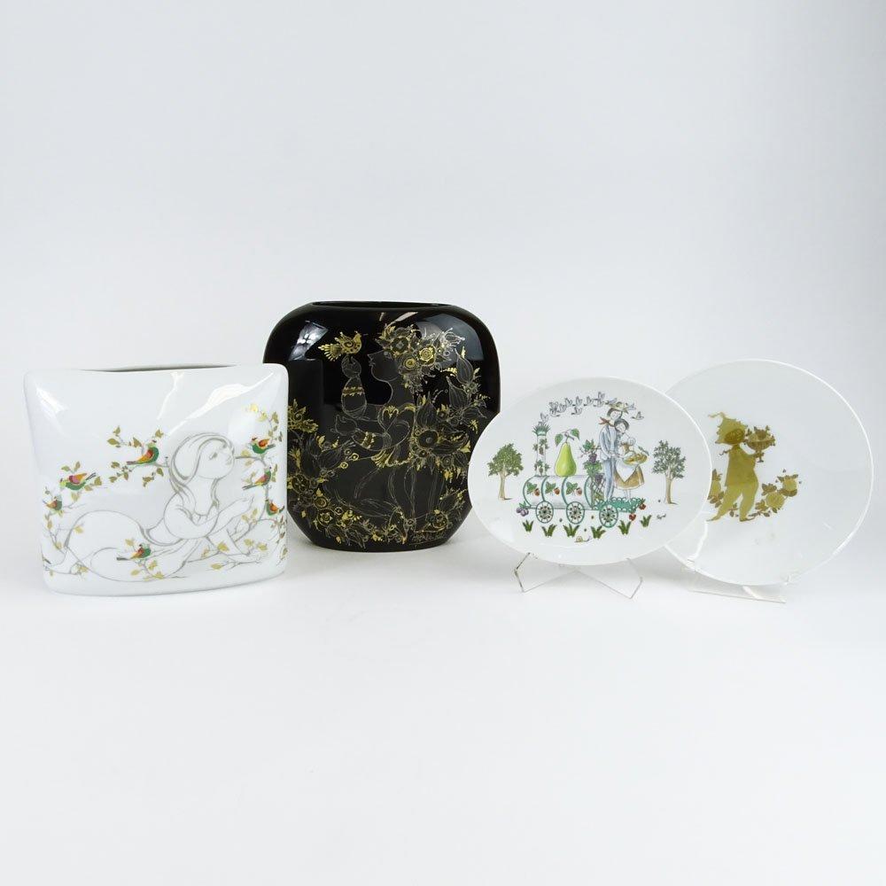Four (4) Piece Lot Rosenthal Porcelain. Includes a