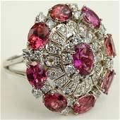 Ladys Vintage approx 20 Carat Round Cut Diamond