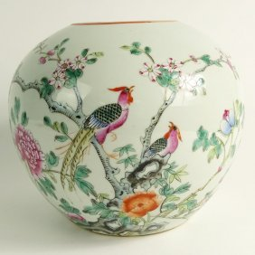 Vintage Mid Century Chinese Export Porcelain Hand