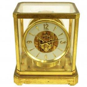 Vintage 1950's Lecoultre Atmos Clock. Serial # 65745.