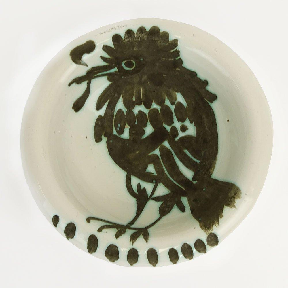 Pablo Picasso (1881-1973) for Madoura, Ceramic Owl Bowl