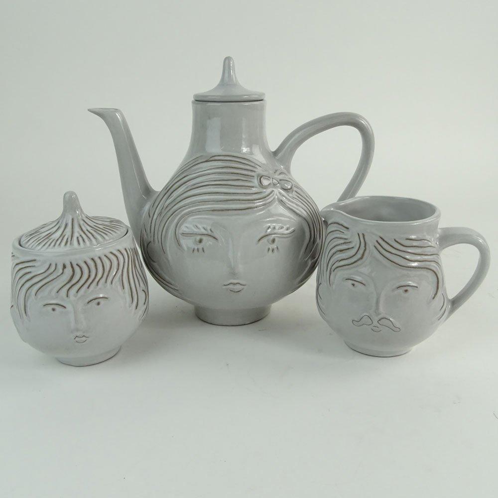 "Jonathan Adler ""Utopia"" Three Piece Tea Set. Includes"
