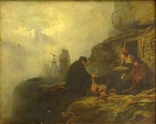 Raphael Ritz, Swiss (1829 - 1894) Oil on canvas