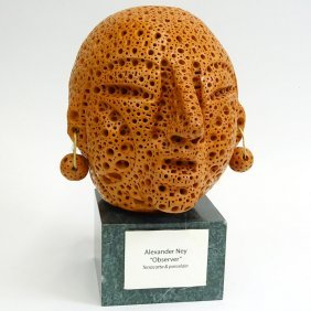 Alexander Ney, American-russian (born 1939) Terracotta