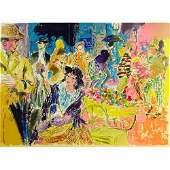LeRoy Neiman, American (1921-2012) Color Serigraph, My
