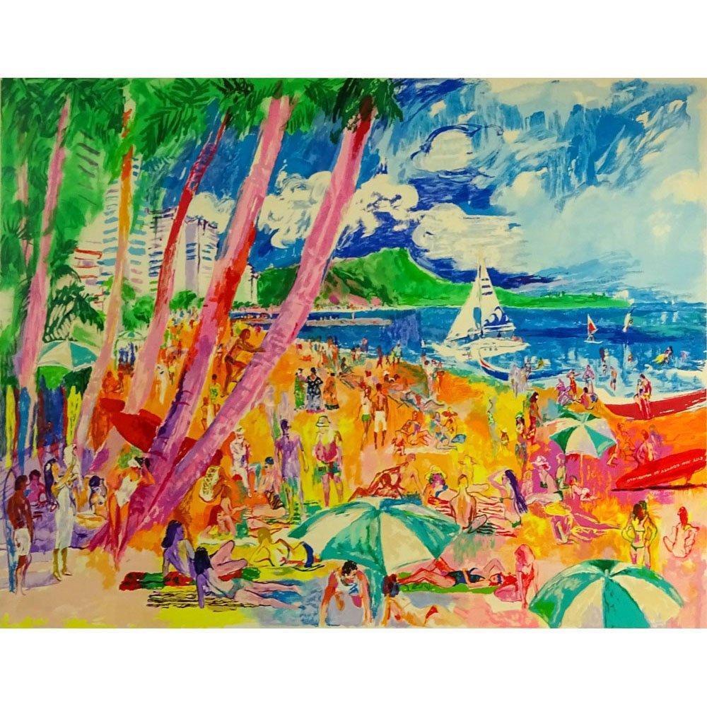 LeRoy Neiman, American (1921-2012) Color Serigraph,