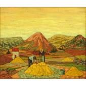 Juan Guillermo Rodriguez Baez, Spanish (1916-1968) Oil
