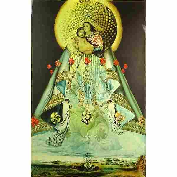 Salvador Dalí, Spanish (1904-1989) Color Lithograph