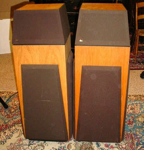 397: Pair of DBX SFX-1 Multi-Directional Speakers. Sign