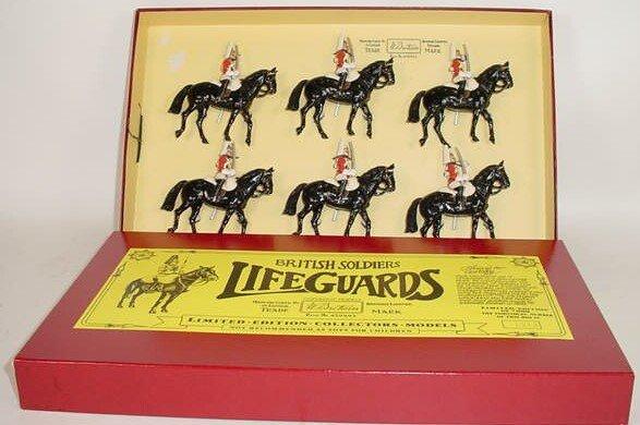 502: 1984 William Britains #5184 Lifeguards Limited Edi