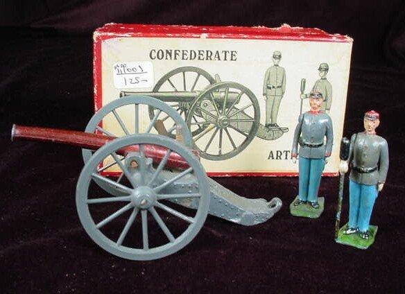 505: 1951 to 1965 William Britains #2058 Confederate Ar