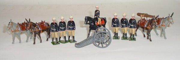 507: 1952 to 1965 William Britains #28 Mountain Gun of