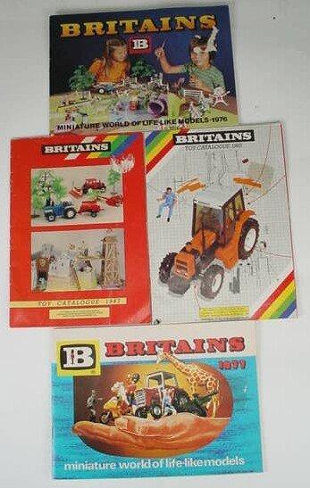 508: Four (4) William Britains Consumer Catalogues Dati