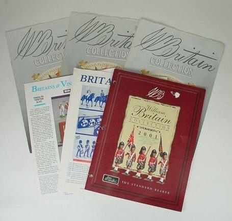 509: Six (6) William Britains Consumer Catalogues Inclu
