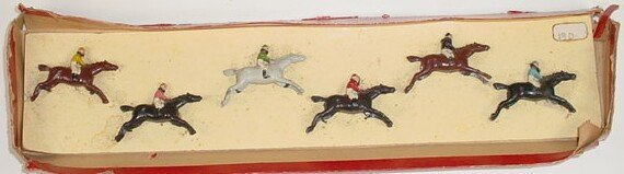 511: attributed to: William Britains Jockey & Racehorse