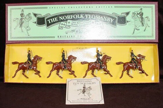 521: 1996 William Britains #8892 The Norfolk Yeomanry S