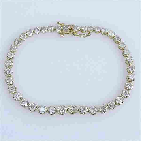 AIG Certified 6.56 Carat Round Brilliant Cut Diamond
