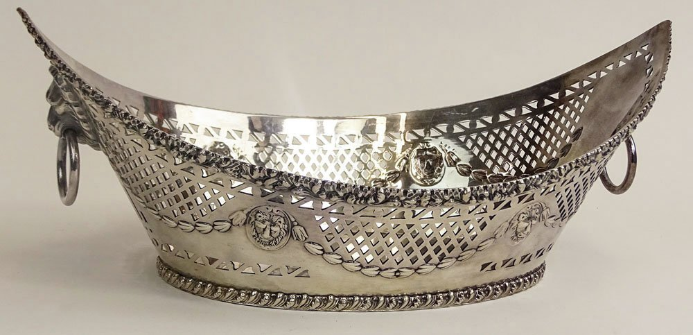 English Ellis-Barker Silver Co. Silverplate Reticulated