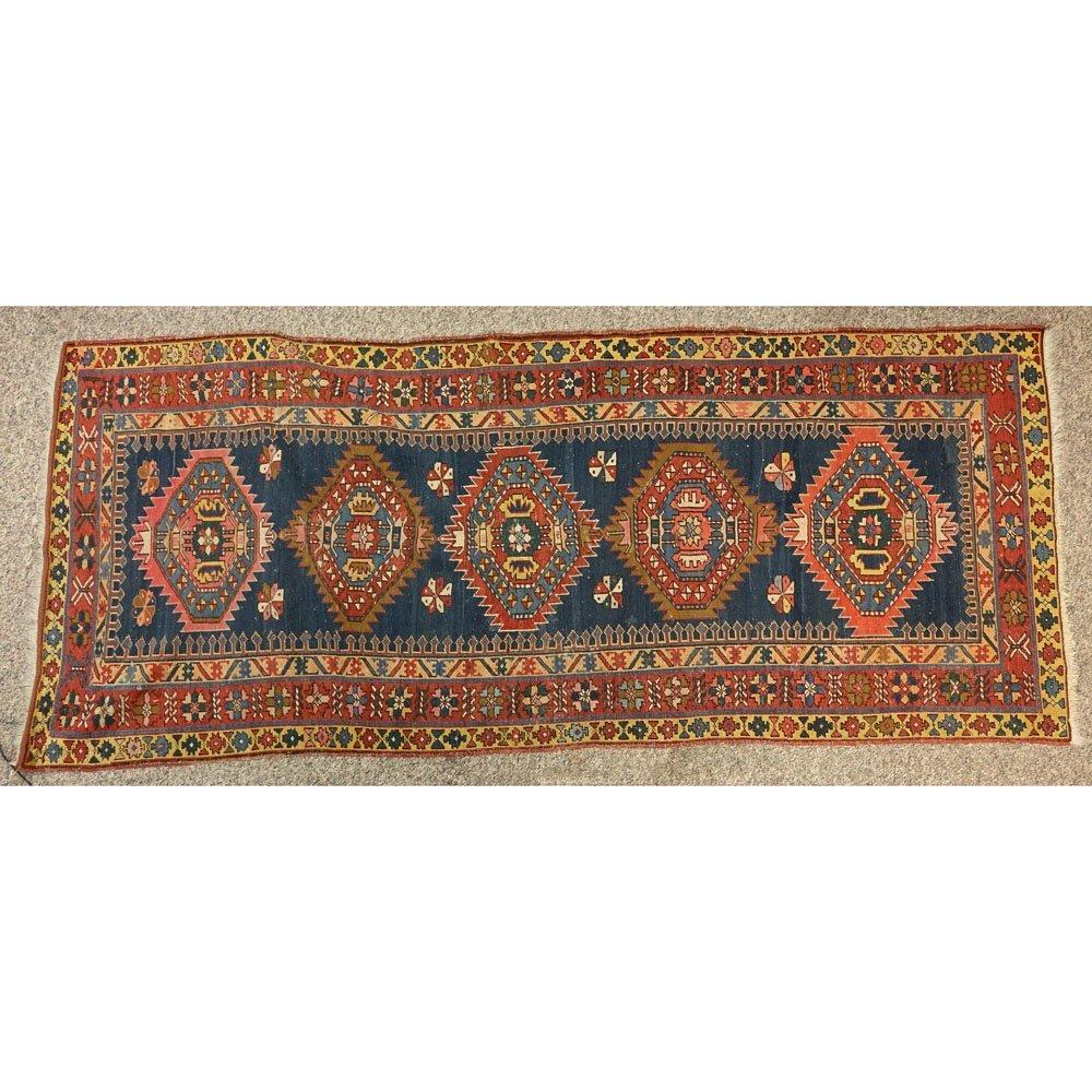 Semi Antique Persian Heriz Rug/Runner. Unsigned.