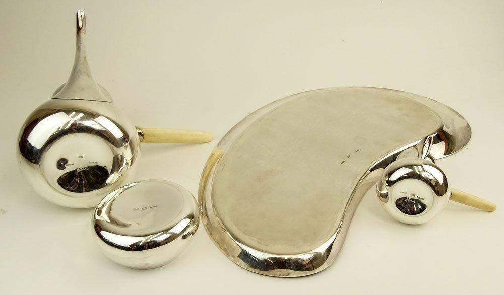 Mid Century Danish Modern Corh Sterling Silver Four (4) - 4