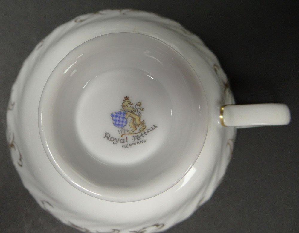 Sixty Five (65) Piece Royal Tettau Porcelain Dinner - 3