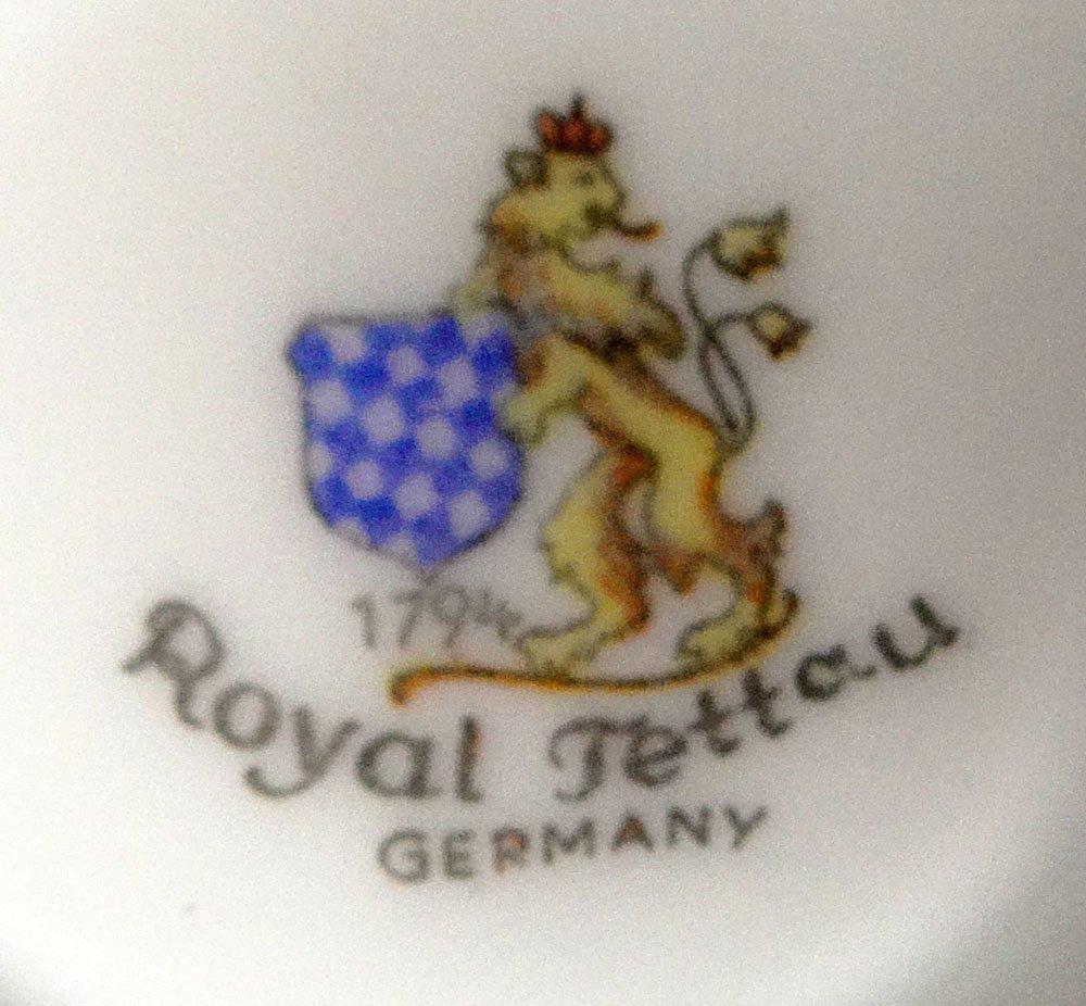 Sixty Five (65) Piece Royal Tettau Porcelain Dinner - 4
