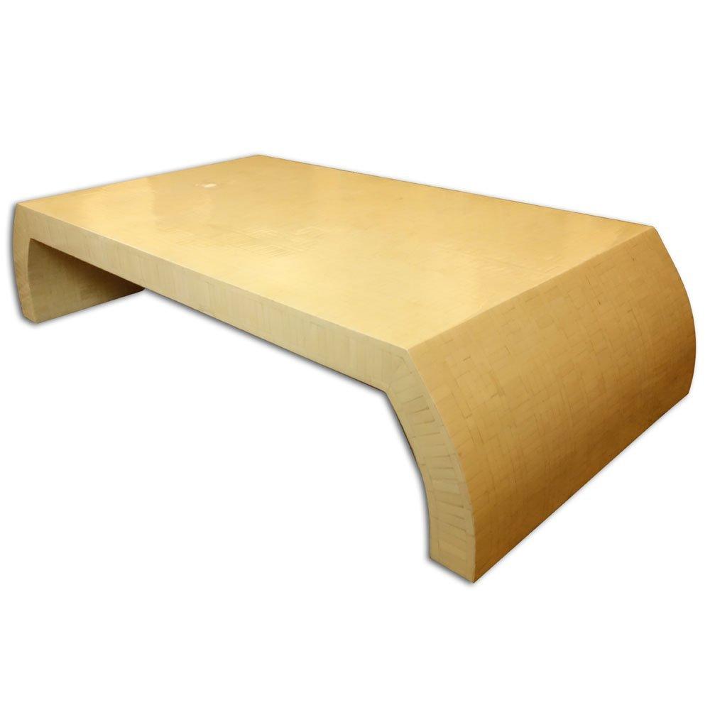 Large Mid Century Modern Karl Springer Style Bone - 4