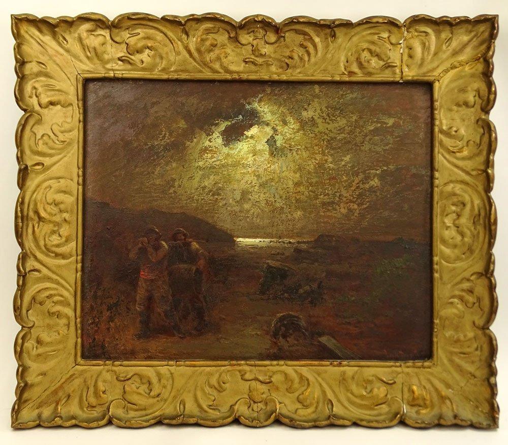 Louis Douzette, German (1834-1924) Oil on Panel, - 2