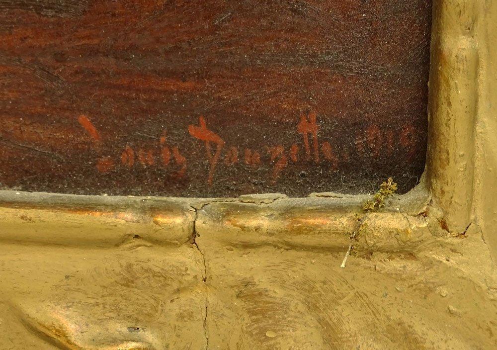 Louis Douzette, German (1834-1924) Oil on Panel, - 3