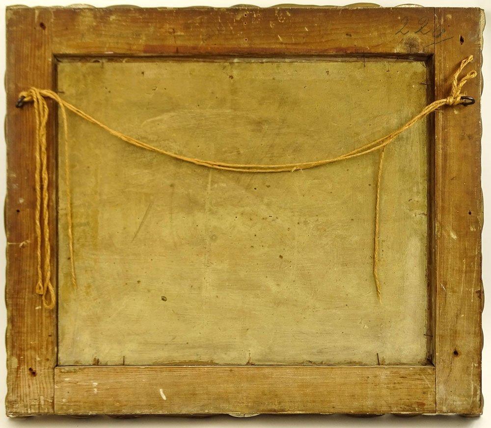 Louis Douzette, German (1834-1924) Oil on Panel, - 4