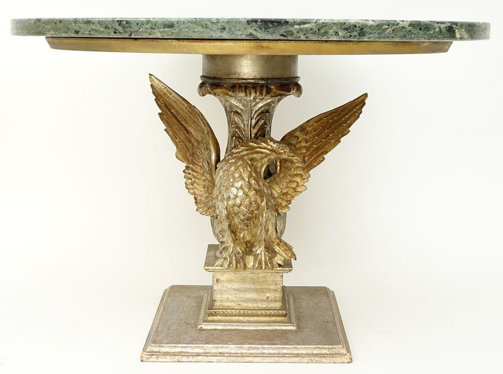 Mid 20th Century Carved and Gilt Wood Figural Eagle - 2