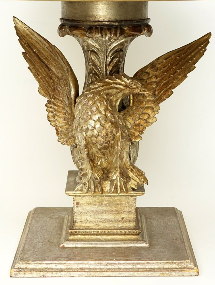 Mid 20th Century Carved and Gilt Wood Figural Eagle - 3