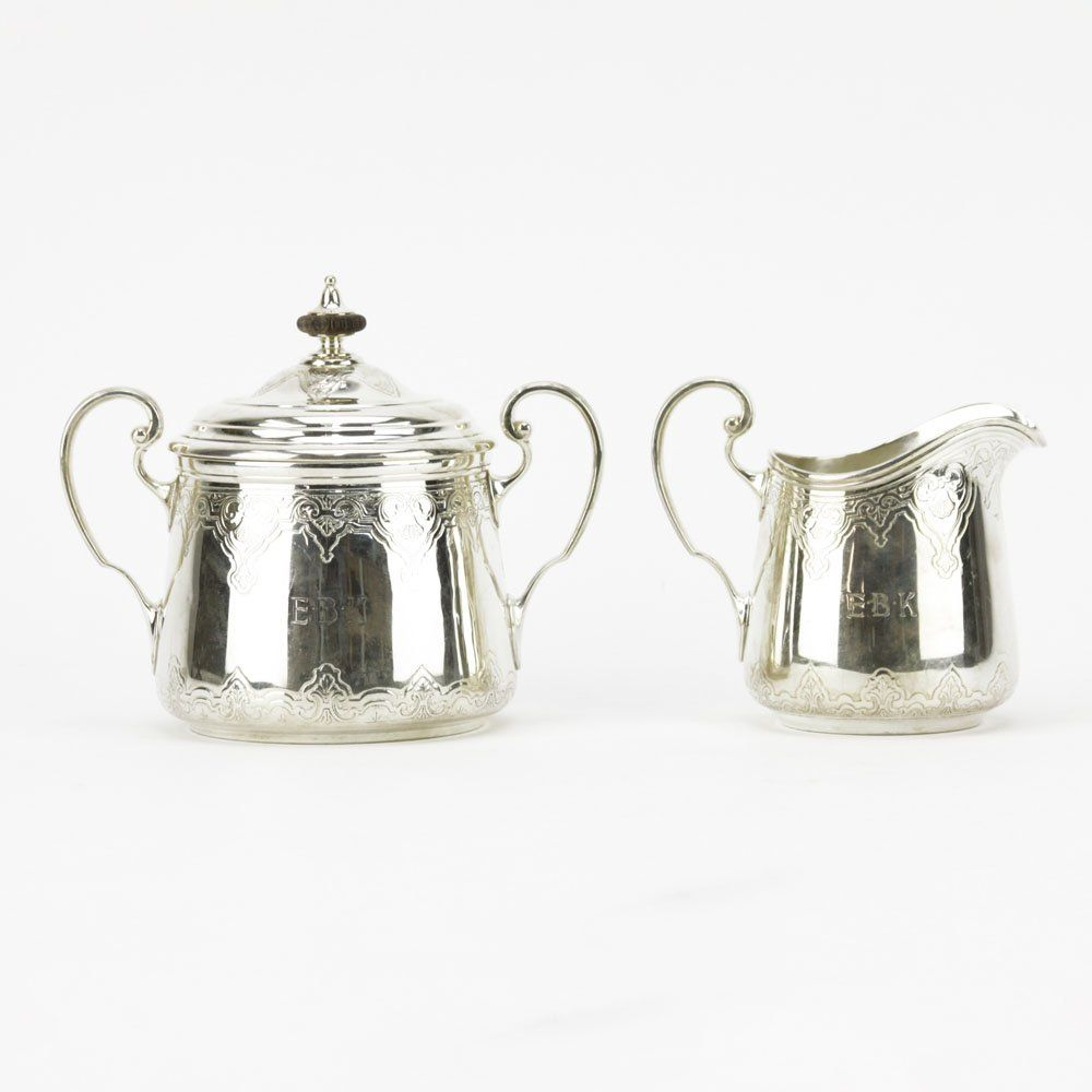 Early 20th Century Tiffany & Co Sterling Silver Cream