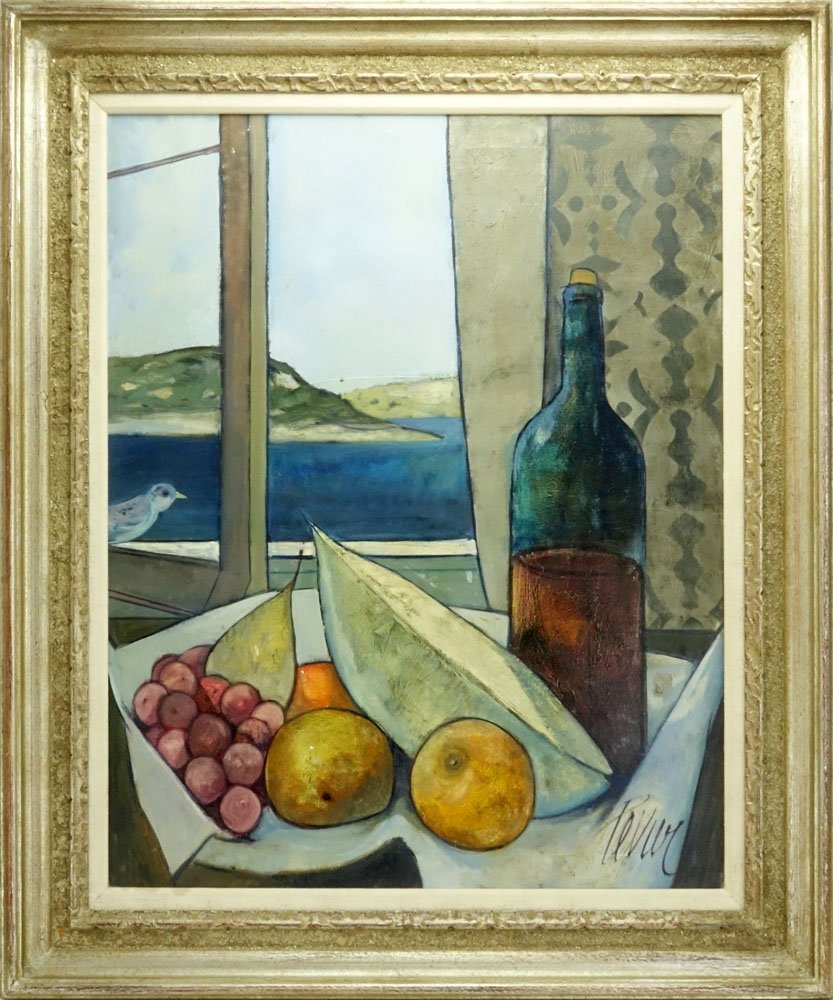 """Charles Levier, French (1920-2003) Oil on Canvas """"Le - 2"""