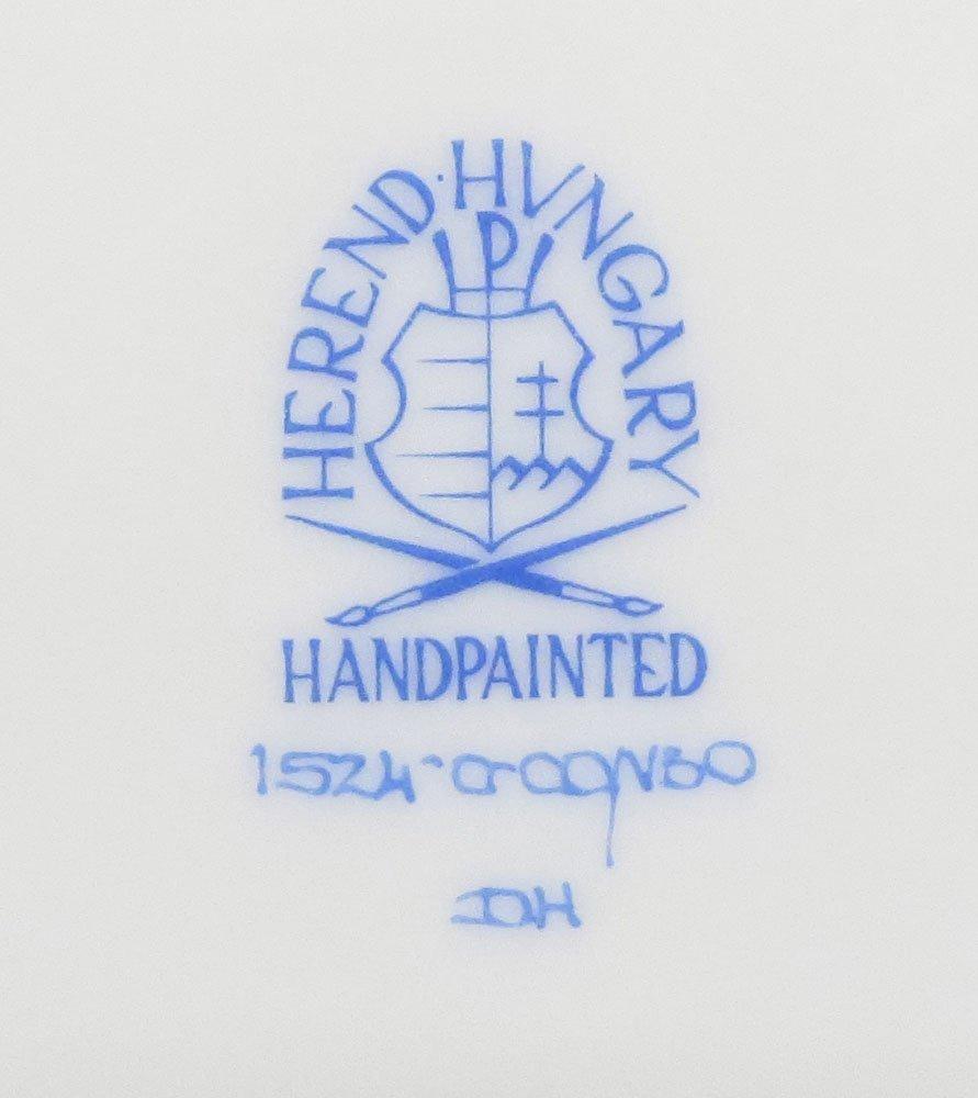 Sixty-Eight (68) Piece Herend Queen Victoria Hand - 7