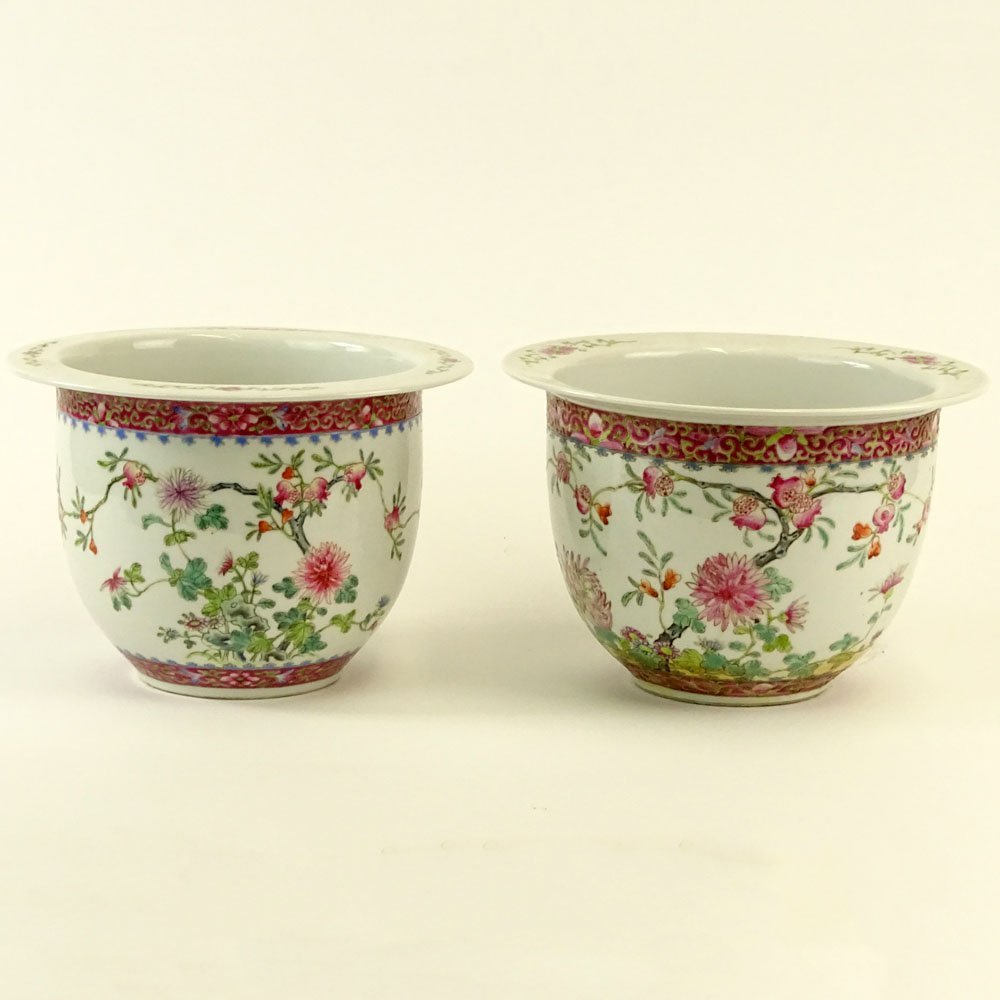 Pair Associated 19/20th Century Chinese Porcelain