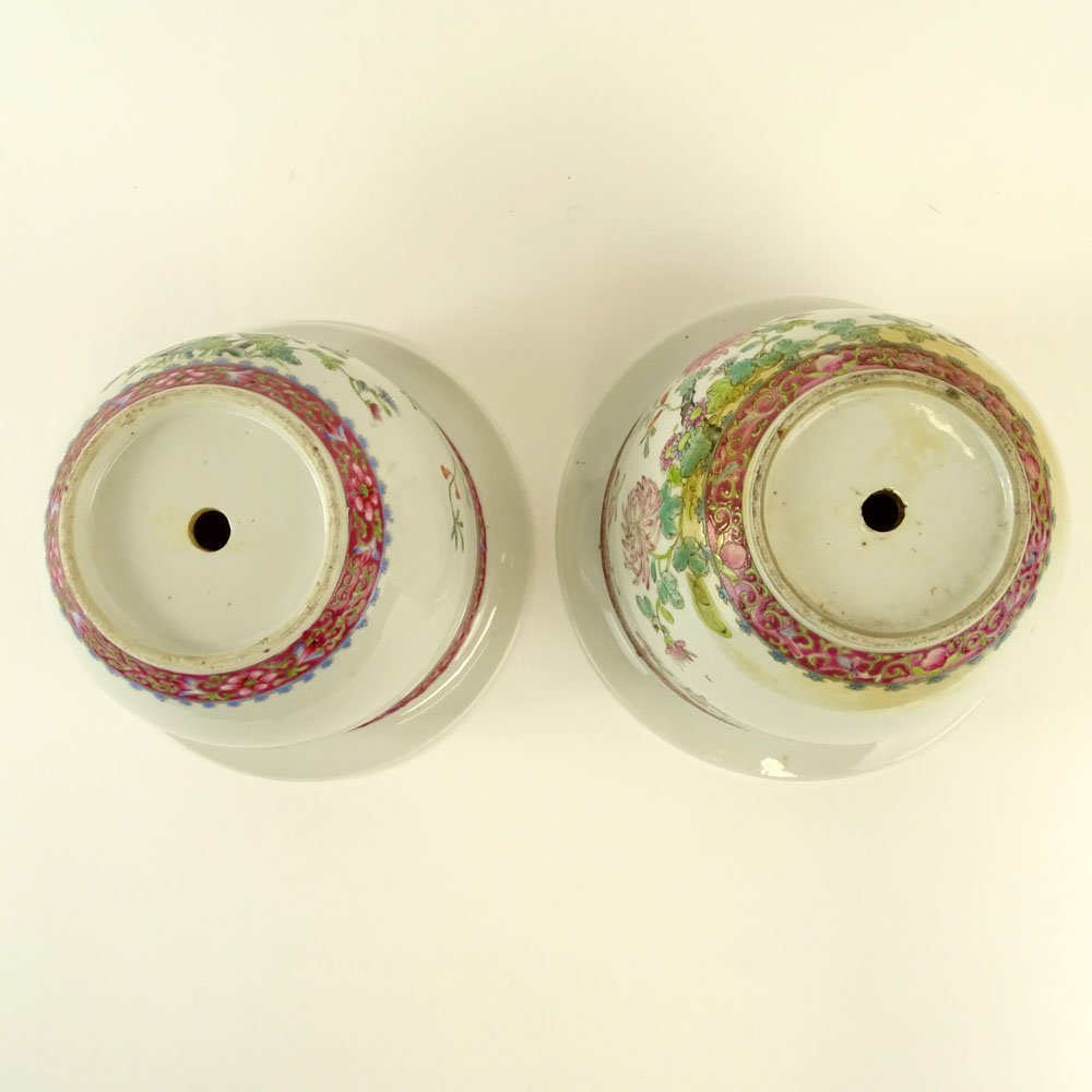 Pair Associated 19/20th Century Chinese Porcelain - 4