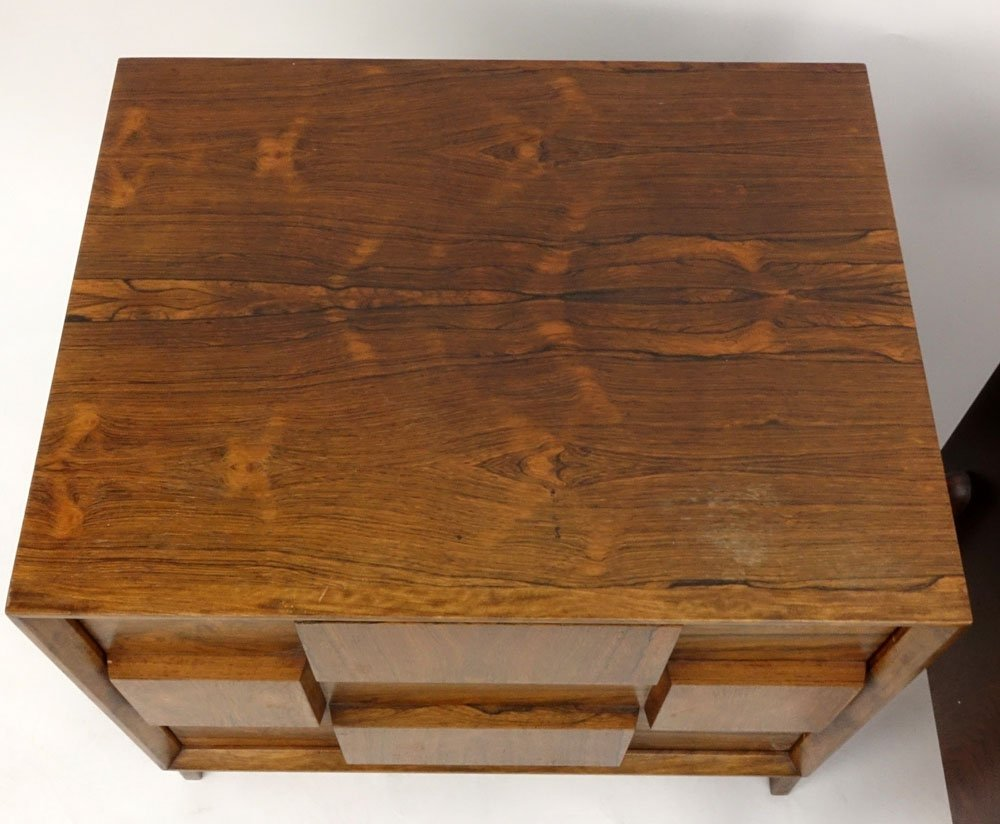 Pair Mid Century Modern Danish Rosewood End Tables. - 3