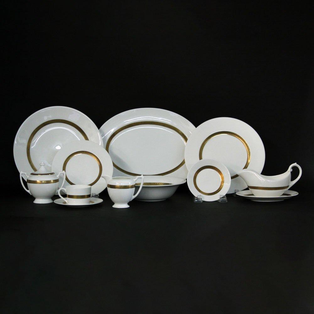 "Fifty-Six (56) Piece Coalport ""Val D'or"" Porcelain"