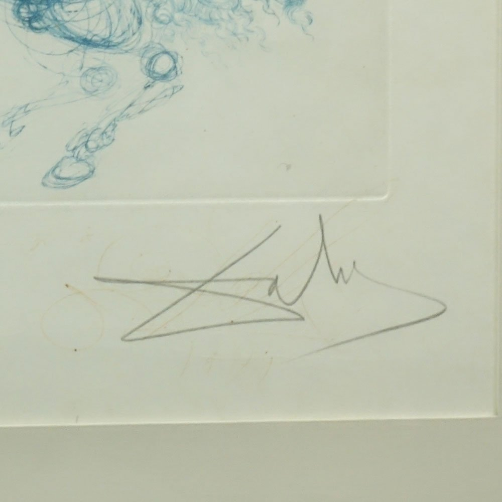Salvador Dali, Spanish (1904-1985) Color Etching, - 3